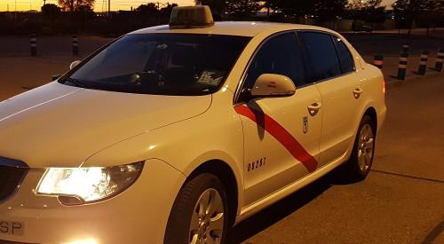 Flota de Taxis Moderna en Pinto